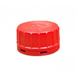 RED CAP DOSE BOTTLE